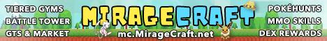 MirageCraft Pixelmon Reforged