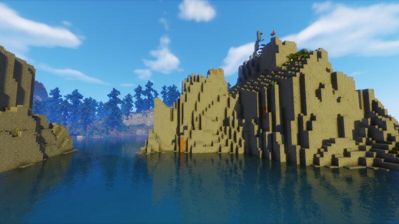 Floating Ocean Rocks