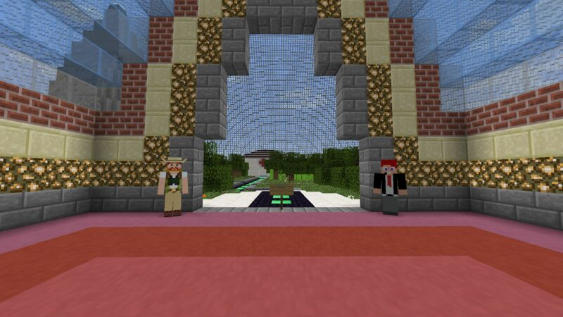 This is the server's spawn