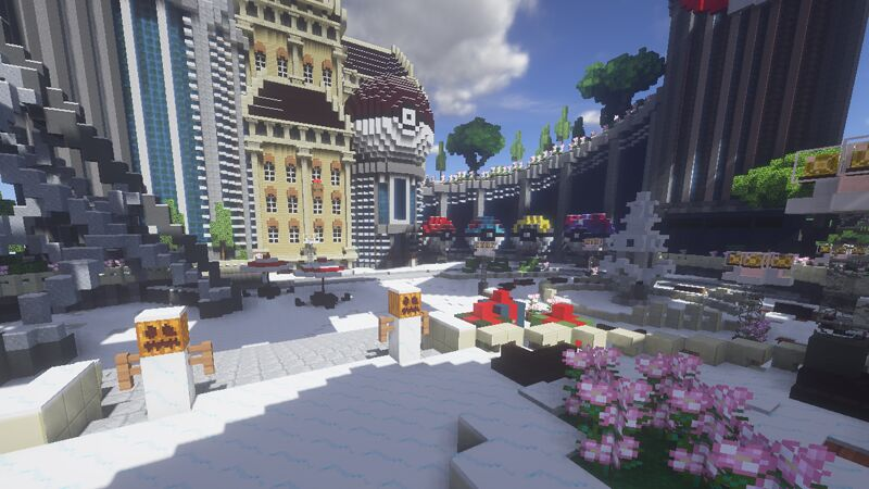 A Winter's Day At Spawn :)