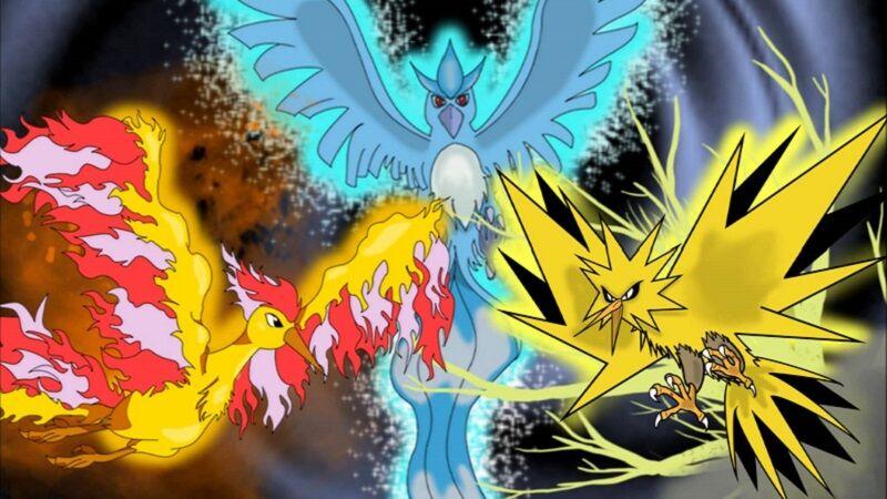The legendary birds