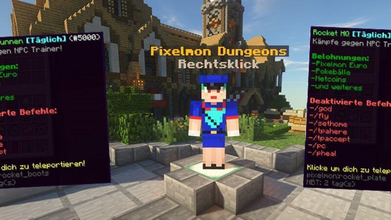 Pixelmon Dungeons!