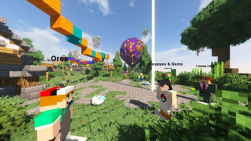 Pixelmon Shop Area