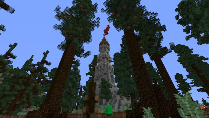 Tower and Trees
